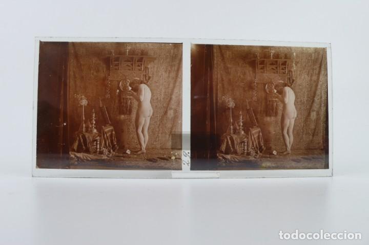 Fotografía antigua: Fotografías eróticas artísticas - Colección 64 fotografías estereoscópicas - Ca.1900 - Foto 44 - 142334502