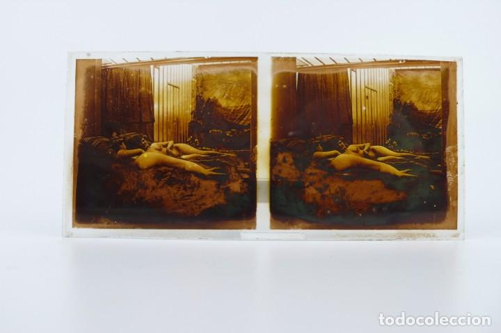 Fotografía antigua: Fotografías eróticas artísticas - Colección 64 fotografías estereoscópicas - Ca.1900 - Foto 47 - 142334502