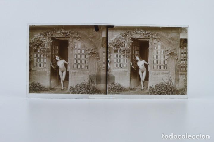 Fotografía antigua: Fotografías eróticas artísticas - Colección 64 fotografías estereoscópicas - Ca.1900 - Foto 50 - 142334502