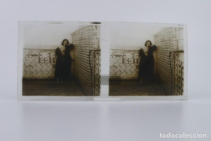 Fotografía antigua: Fotografías eróticas artísticas - Colección 64 fotografías estereoscópicas - Ca.1900 - Foto 52 - 142334502