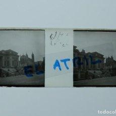 Fotografía antigua: YECLA, MURCIA - VISTA - POSITIVO EN CRISTAL ESTEREOSCOPICO - AÑOS 1900-10. Lote 142440470