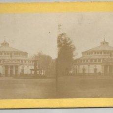 Fotografía antigua: CIRQUE DE L'IMPERATRICE EUGENIE A PARIS-FINAL DEL SIGLO XIX-TARJETA ESTEREOSCÓPICA. Lote 142451482