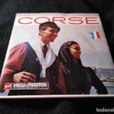 Fotografía antigua: VIEW MASTER CORSÉ 3 DISCOS. Lote 142777794