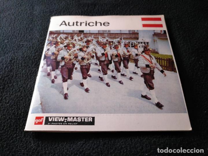 VIEW MASTER AUTRICHE AUSTRIA (Fotografía Antigua - Estereoscópicas)