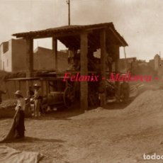 Fotografía antigua: FELANIX - MALLORCA - 1940'S - NEGATIVO DE VIDRIO. Lote 143168326
