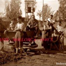 Fotografía antigua: FELANIX - MALLORCA - 1940'S - NEGATIVO DE VIDRIO. Lote 143168634