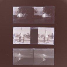 Fotografía antigua: TARRAGONA - 4 NEGATIVOS EN CRISTAL ESTEREOSCOPICO - AÑOS 1920-30. Lote 143170238