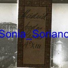 Fotografía antigua: MADRID, ALFONSO XIII. BODAS REALES - CRISTAL POSITIVO ESTEREOSCOPICO. 31 DE MAYO DE 1906. Lote 143777794