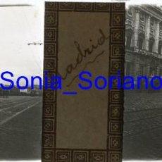Fotografía antigua: MADRID, BODA ALFONSO XIII. BODAS REALES - CRISTAL POSITIVO ESTEREOSCOPICO. AÑO 1906. Lote 143778298