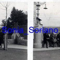 Fotografía antigua: MONTSERRAT, BARCELONA? - CRISTAL ESTEREOSCOPICO - PRINCIPIO 1900. Lote 143924170