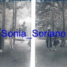 Fotografía antigua: MONTSERRAT, BARCELONA? - CRISTAL ESTEREOSCOPICO - PRINCIPIO 1900. Lote 143924390