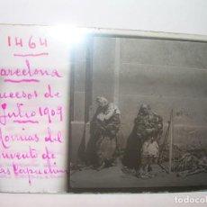 Fotografía antigua: BARCELONA.SEMANA TRAGICA.10 CRISTALES. 1909.QUEMA DE CONVENTOS DE LOS CAPUCHINOS,MOMIAS,HERIDOS, ETC. Lote 144100846