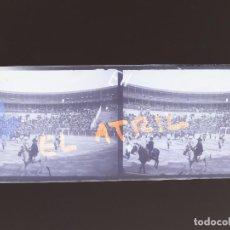 Fotografía antigua: ALICANTE PLAZA DE TOROS - NEGATIVO EN CRISTAL ESTEREOSCOPICO - AÑOS 1920. Lote 144130830