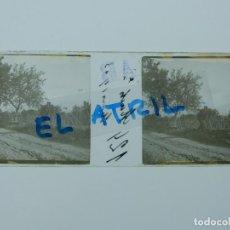 Fotografía antigua: MURCIA HUERTA - POSITIVO EN CRISTAL ESTEREOSCOPICO - AÑOS 1920. Lote 144132158
