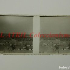 Old photograph - ROCAFORT, VALENCIA VISTA - POSITIVO EN CRISTAL ESTEREOSCOPICO - AÑOS 1920 - 144475502
