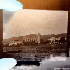 Fotografía antigua: LOTEDE DOS PLACAS DE GELATINO BOMURO, 1900 CATALUÑA.. Lote 146112504