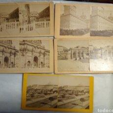 Old photograph - 5 fotografías estereoscopicas de dIferentes edificios - 146274284