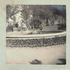 Fotografía antigua: ESTEREOSCÓPICA.- PASEO DE LA GLORIETA.NIÑO CON BURRO.- (E. JORDÁ BLANES ALCOY, ALICANTE). Lote 146519226