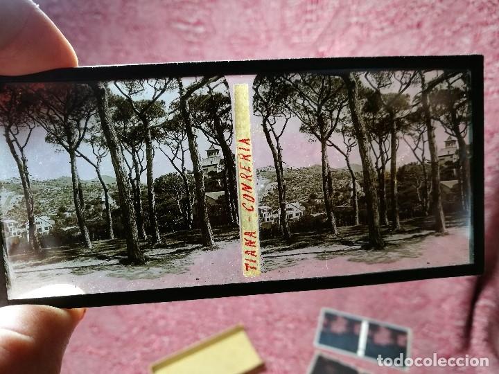 Fotografía antigua: lote 6 placas estereoscopicas de cristal .vidrio..tiana conreria---BARCELONA - Foto 3 - 147197194