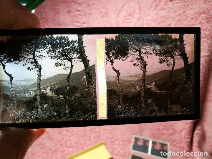 Fotografía antigua: lote 6 placas estereoscopicas de cristal .vidrio..tiana conreria---BARCELONA - Foto 4 - 147197194