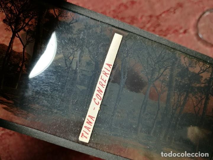 Fotografía antigua: lote 6 placas estereoscopicas de cristal .vidrio..tiana conreria---BARCELONA - Foto 9 - 147197194