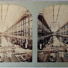 Old photograph - LONDRES, EXPOSICIÓN 1851, NAVE SALA PRINCIPAL. T.R. WILLIAMS - 147429906