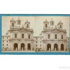 Fotografía antigua: ESTEREOSCÓPICA.- MADRID.- SAN FRANCISCO EL GRANDE. . Lote 147535082