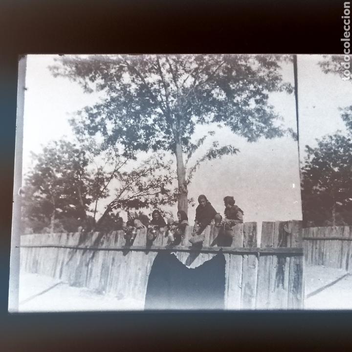 Fotografía antigua: Lote tres placas estereoscopicas del año 1900 Sevilla - Foto 4 - 147693256
