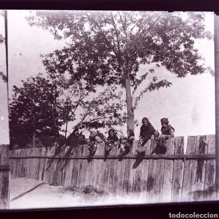 Fotografía antigua: Lote tres placas estereoscopicas del año 1900 Sevilla - Foto 3 - 147693256