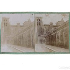 Old photograph - ESTEREOSCÓPICA.- BURGOS.- LAS HUELGAS - 148001418