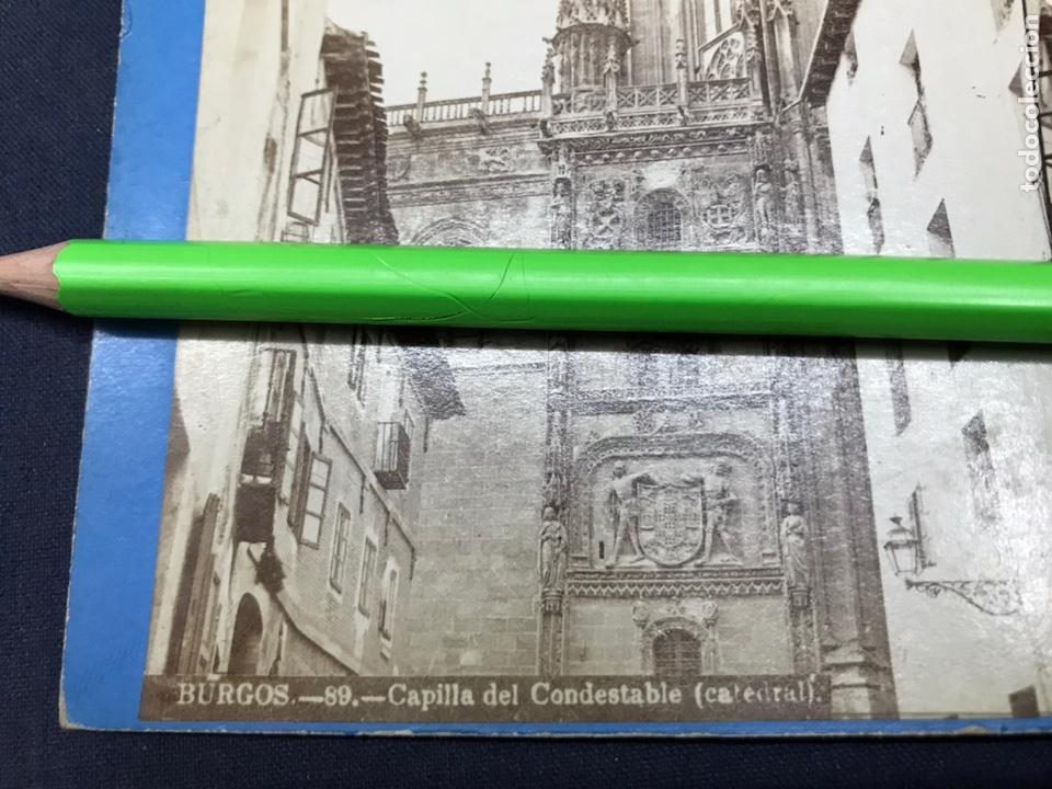Fotografía antigua: BURGOS. CAPILLA DEL CONDESTABLE. LAURENT VISTA ESTEREOSCÓPICA, ALBUMINAS. BUEN ESTADO. Nº 89 - Foto 2 - 148209326