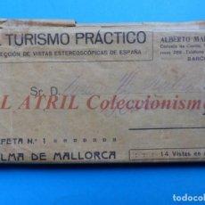 Old photograph - PALMA DE MALLORCA 14 Vistas Estereoscopicas EL TURISMO PRACTICO Años 1920-30 VER FOTOS ADICIONALES - 149847874