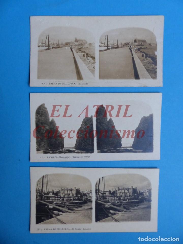 Fotografía antigua: PALMA DE MALLORCA 14 Vistas Estereoscopicas EL TURISMO PRACTICO Años 1920-30 VER FOTOS ADICIONALES - Foto 2 - 149847874