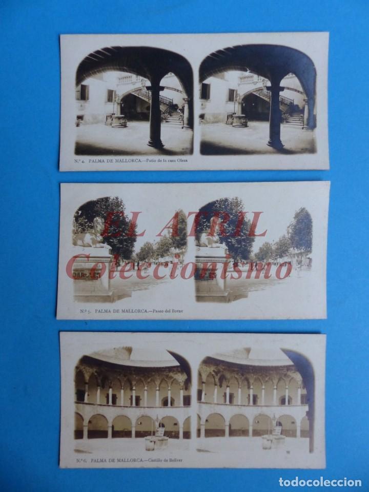 Fotografía antigua: PALMA DE MALLORCA 14 Vistas Estereoscopicas EL TURISMO PRACTICO Años 1920-30 VER FOTOS ADICIONALES - Foto 3 - 149847874
