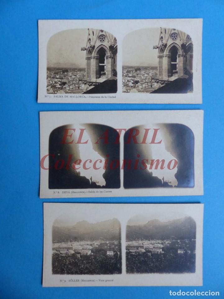 Fotografía antigua: PALMA DE MALLORCA 14 Vistas Estereoscopicas EL TURISMO PRACTICO Años 1920-30 VER FOTOS ADICIONALES - Foto 4 - 149847874
