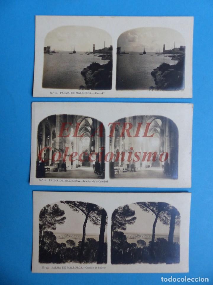 Fotografía antigua: PALMA DE MALLORCA 14 Vistas Estereoscopicas EL TURISMO PRACTICO Años 1920-30 VER FOTOS ADICIONALES - Foto 5 - 149847874