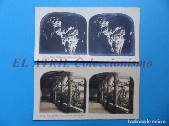 Fotografía antigua: PALMA DE MALLORCA 14 Vistas Estereoscopicas EL TURISMO PRACTICO Años 1920-30 VER FOTOS ADICIONALES - Foto 6 - 149847874