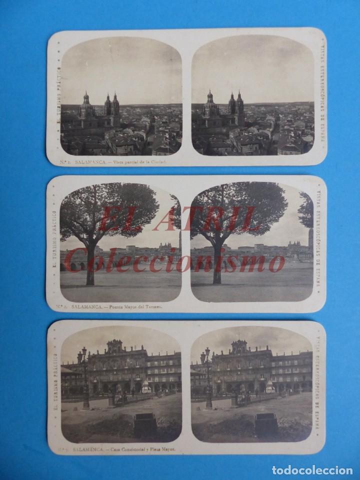 Fotografía antigua: SALAMANCA - 12 Vistas Estereoscopicas EL TURISMO PRACTICO - Años 1920-30 - VER FOTOS ADICIONALES - Foto 2 - 149848102
