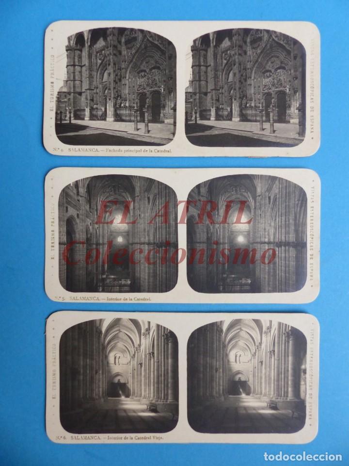 Fotografía antigua: SALAMANCA - 12 Vistas Estereoscopicas EL TURISMO PRACTICO - Años 1920-30 - VER FOTOS ADICIONALES - Foto 3 - 149848102