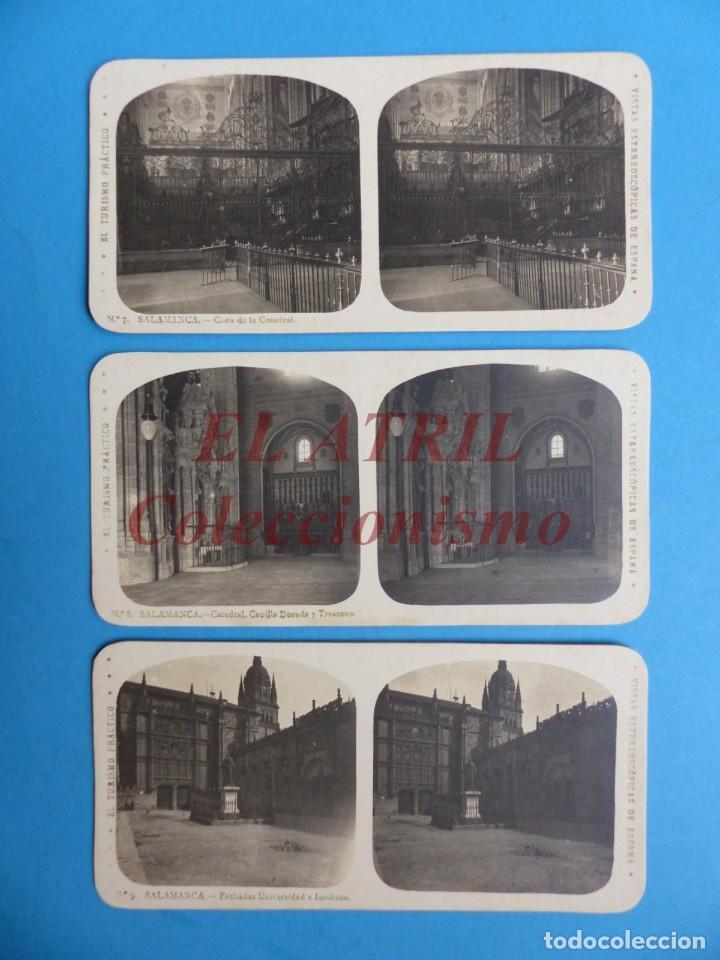 Fotografía antigua: SALAMANCA - 12 Vistas Estereoscopicas EL TURISMO PRACTICO - Años 1920-30 - VER FOTOS ADICIONALES - Foto 4 - 149848102