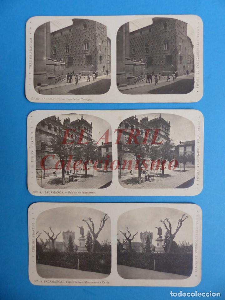 Fotografía antigua: SALAMANCA - 12 Vistas Estereoscopicas EL TURISMO PRACTICO - Años 1920-30 - VER FOTOS ADICIONALES - Foto 5 - 149848102