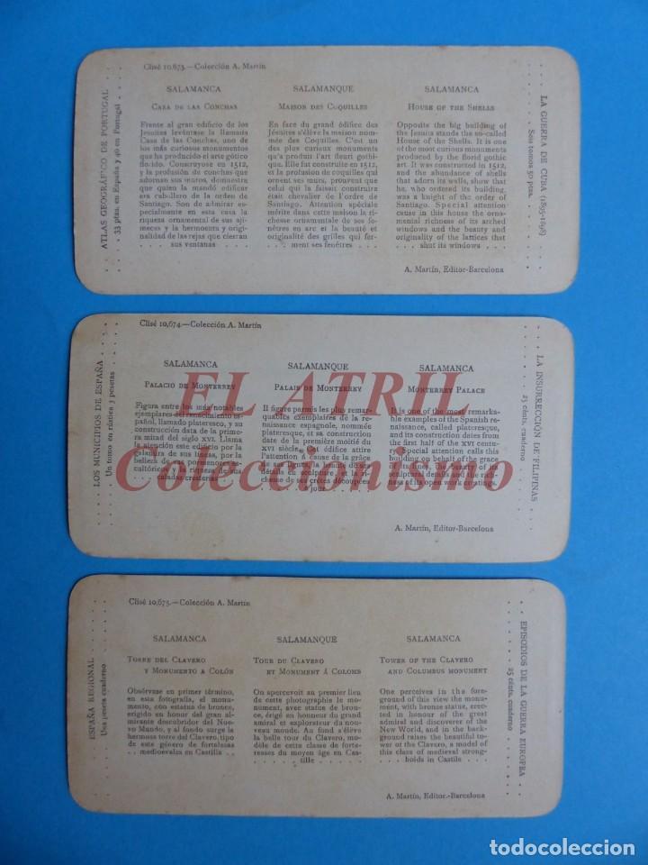 Fotografía antigua: SALAMANCA - 12 Vistas Estereoscopicas EL TURISMO PRACTICO - Años 1920-30 - VER FOTOS ADICIONALES - Foto 6 - 149848102