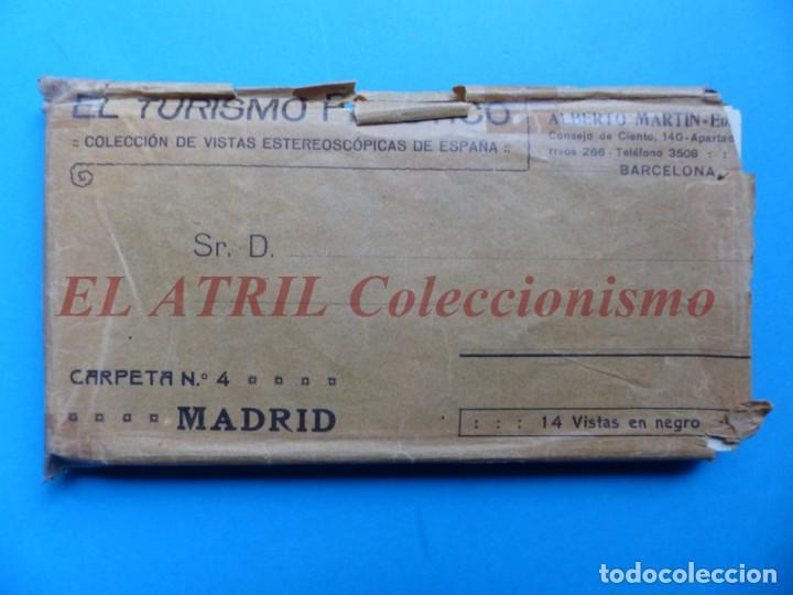 MADRID - 14 VISTAS ESTEREOSCOPICAS EL TURISMO PRACTICO - AÑOS 1920-30 - VER FOTOS ADICIONALES (Fotografía Antigua - Estereoscópicas)
