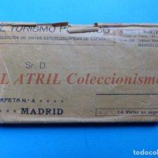 Old photograph - MADRID - 14 Vistas Estereoscopicas EL TURISMO PRACTICO - Años 1920-30 - VER FOTOS ADICIONALES - 149848230