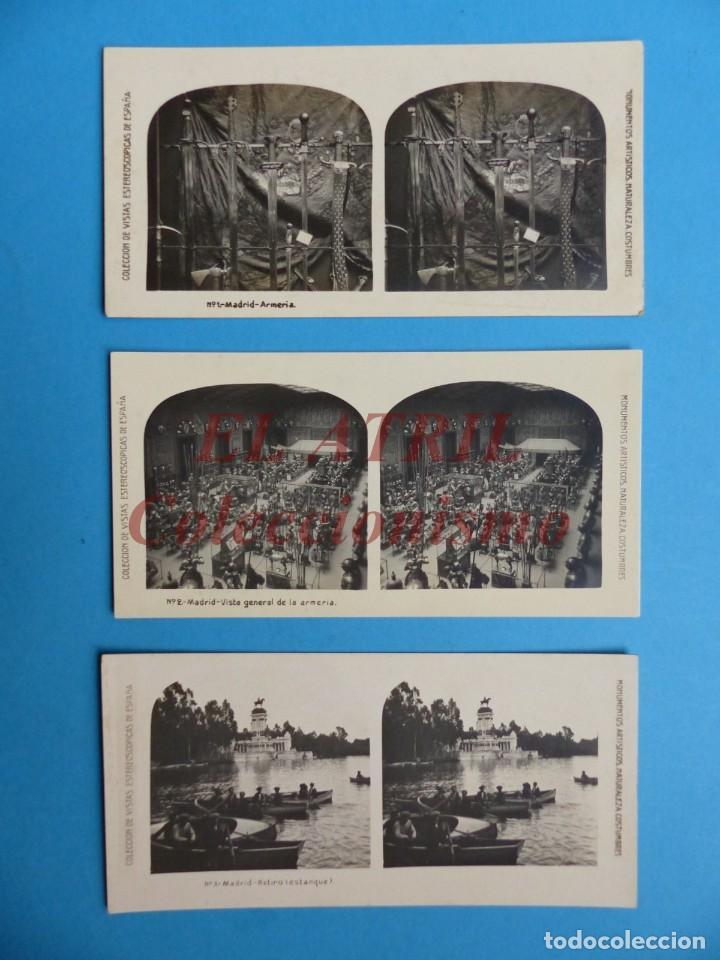 Fotografía antigua: MADRID - 14 Vistas Estereoscopicas EL TURISMO PRACTICO - Años 1920-30 - VER FOTOS ADICIONALES - Foto 2 - 149848230