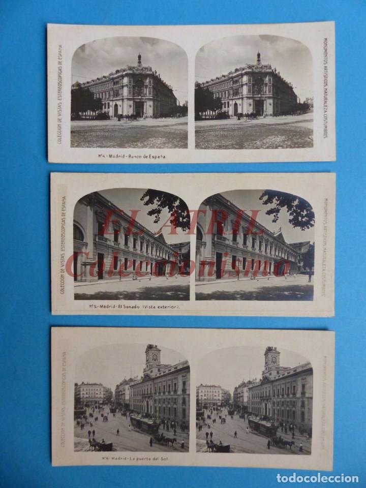 Fotografía antigua: MADRID - 14 Vistas Estereoscopicas EL TURISMO PRACTICO - Años 1920-30 - VER FOTOS ADICIONALES - Foto 3 - 149848230