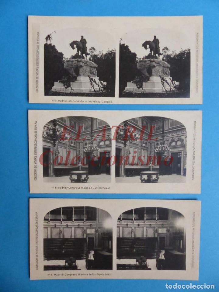 Fotografía antigua: MADRID - 14 Vistas Estereoscopicas EL TURISMO PRACTICO - Años 1920-30 - VER FOTOS ADICIONALES - Foto 4 - 149848230