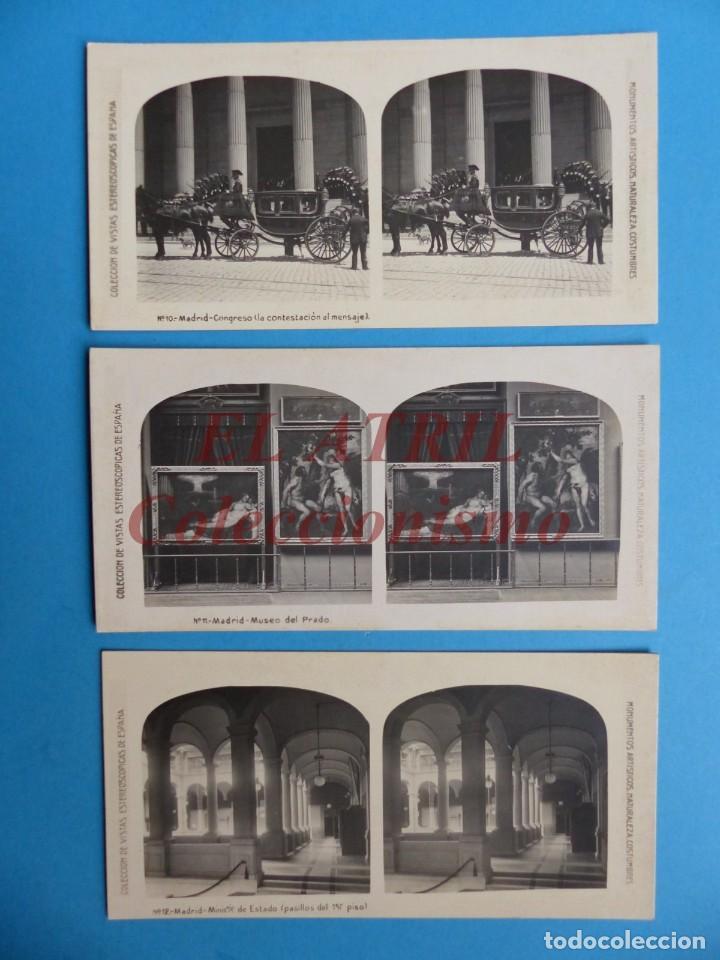 Fotografía antigua: MADRID - 14 Vistas Estereoscopicas EL TURISMO PRACTICO - Años 1920-30 - VER FOTOS ADICIONALES - Foto 5 - 149848230