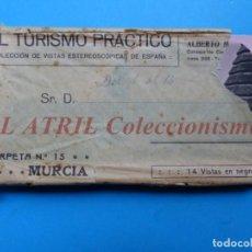 Old photograph - MURCIA - 14 Vistas Estereoscopicas EL TURISMO PRACTICO - Años 1920-30 - VER FOTOS ADICIONALES - 149848362