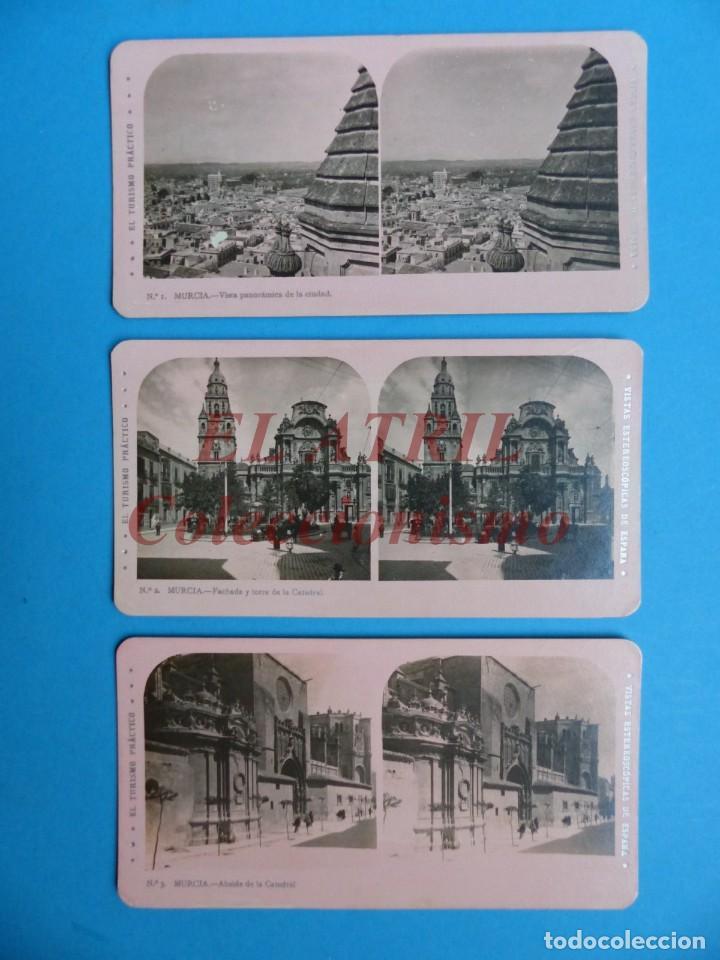 Fotografía antigua: MURCIA - 14 Vistas Estereoscopicas EL TURISMO PRACTICO - Años 1920-30 - VER FOTOS ADICIONALES - Foto 2 - 149848362